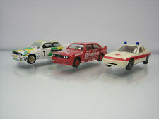Lot of 3 Herpa Plastic HO Cars 1/87 BMW/Porsche