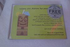 Luau Birthday Party Invitations Printable