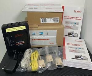 Frontier Netgear Wireless ADSL Modem Router D2200D Self-Installation Combo Kit