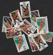 100+ #2082-2085 Summer Olympic Games Stamps, 20 cent, Off Paper