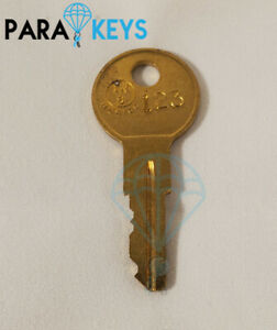 (2PCS) Cut Hudson Kendall 325A Container Key Replacement