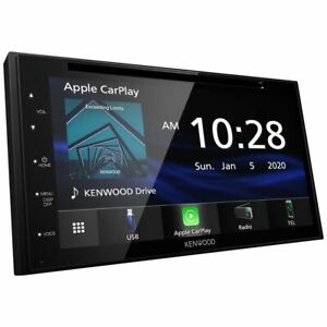 """Kenwood DDX5707S Double DIN 6.8"""" Touchscreen In-Dash DVD/CD Car Stereo Receiver"""