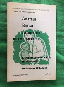 ABA Boxing Championships  SF 1972  inc Kirkland Laing Pat Cowdell  Belle Vue