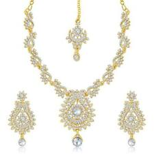 Sukkhi Australian Diamond Stone Studded Necklace Set(2030NADK1550)