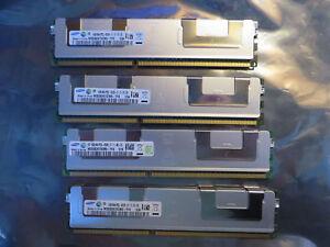 RAM Memory SERVEUR > 4 x 16GB - 4Rx4 PC3L - 8500R  >  Merci de voir les Photos