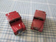 2 x DINKY No. 255 - MERSEY TUNNEL POLICE LAND ROVER-UNBOXED