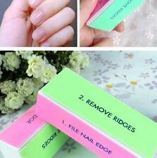 4 Way Buffer Block Shine File Polish Nail Art Professional Beauty Tool 1pc