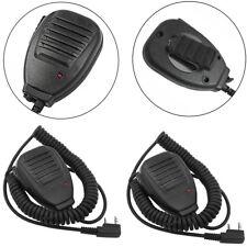 2Pcs Shoulder Handheld For Baofeng UV5R Speaker Mic Walkie Talkie Radio