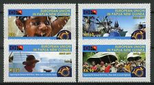 Papua New Guinea PNG 2018 MNH EU European Union 4v Set Boats Cultures Stamps