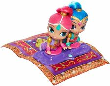 Fisher-Price Shimmer and Shine MAGIC FLYING CARPET & Dolls - TALKS Sings *NEW*