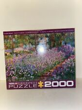 EuroGraphics Monet's Garden Jigsaw Puzzle (1000-Piece) New Sealed Art Artist