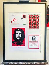 Che Guevara 50th Anniversary Commemorative stamp set from Jim FitzPatrick