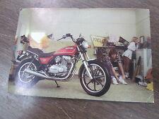"""Vintage 1980 Kawasaki Motorcycle Postcard Post Card KZ440LTD KZ440 LTD 4.5x6.75"""""""