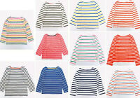 Girls Breton T-Shirt Long Sleeve Stripe Age 2-16 Years  NEW EX Boden RRP £20