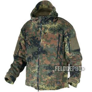 Helikon-Tex Patriot Heavy Fleece Jacket - BW Flecktarn Bundeswehr Outdoor Jacke