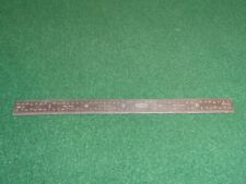 Stainless Steel Ruler,No 616,  General Tools Mfg