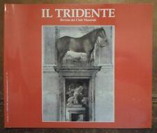 MASERATI IL TRIDENTE Magazine Brochure April 1990 Edn - Shamal Spyder 2.0 2.8