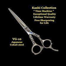 "NEW KASHI PROFESSIONAL 6"" BARBER SHEARS SCISSORS  VG-10 JAP STEEL TIME MACHINE"