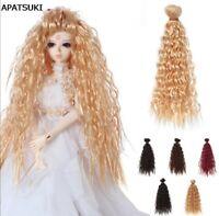 1pc 25cm*1m Doll Wigs DIY Doll Hair Curly Hair  For 1/3 1/4 1/6 BJD SD Doll Toy