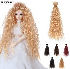 1pc 25cm*1m Doll Wigs DIY Doll Hair Curly Hair  For 1/3 1/4 1/6 BJD SD Doll Toy