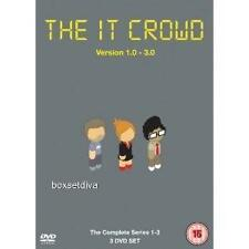 THE IT CROWD -  SERIES 1 2 & 3 ***BRAND NEW  DVD BOX SET**