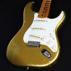 Fender 1957 Stratocaster Heavy Relic Aged Aztec Gold over Gold Sparkle for sale