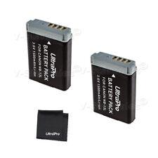 2X NB-13L 1500mAh Replacement Battery for Canon PowerShot G5X G7X G9X SX730