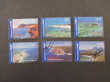 NO-23- 2007  INTERNATIONAL  ISSUES  ISLAND  JEWELS   - 6  STAMPS USED