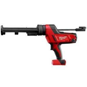 Milwaukee 2641-20 M18 18V 10-Ounce Caulk and Adhesive Gun - Bare Tool