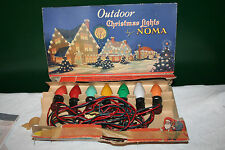 Antique Outdoor Christmas Lights by NOMA ORIGINAL BOX WORK PERFECTLY