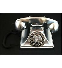Paramount Collections1929M Brittany Reproduction Chrome Metal Corded Phone