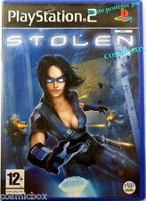 STOLEN jeu video de voleur pour console PlayStation 2 Sony PS2 ps testé complet