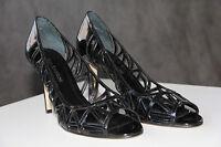 ENZO ANGIOLINI Black Formal High Heels Pumps Womens Dress Shoes Sz 8 Eamixx NEW