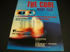 The Cure is refreshing with the song Mint Car Rare 1996 radio biz Promo Ad