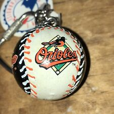 Vintage 1986 MLB Baltimore Orioles Baseball Lil Sports Brat Keychain W/ Tag