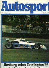 Autosport June 29th 1978 *Donington F2 & Cadwell F3*