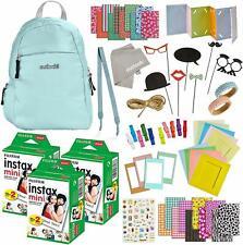 100 Piece Instax Mini 9 Camera Accessories - Travel Kit Bundle - Backpack
