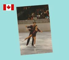 Salé & Turner - Near Mint 1990s 4x6 Color Photograph - CANADIAN PAIRS MEDALISTS