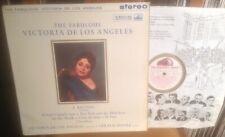HMV ASD 413 G/c THE FABULOUS VICTORIA DE LOS ANGELES STEREO LP w/INSERT