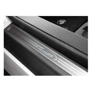 Genuine GM Holden Scuff Sill Plates with Redline F&R for VE VF2 SS SSV Chevrolet