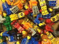 5 LEGO Jack Stone Figuren Konvolut Lego Juniors
