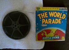 """8 mm Castle Films """" The World Parade """" Paris Complete Edition"""