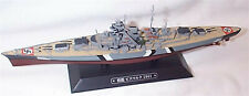 Bismarck Battle Cruiser 1941 on display Plinth 1:1100 Scale new eaglemoss