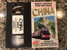 Worlds Greatest Train Ride Videos China VHS! PBS National Geographic Discovery