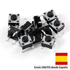 50 boton pulsador botones switch 4 pin 6x6x5 mm Arduino Raspberry electronica