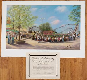 """Linda Barnicott: """"King Of The Coasters"""" SOLD OUT Edition# 257, 258, 265 /500"""