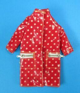 AUCTION Vintage Barbie FRANCIE - POLKA DOTS & RAIN DROPS #1255 > Red Raincoat