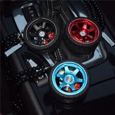 Alloy Wheels Ornaments Car Rear View Mirror Hanging Automobile Perfume Pendants