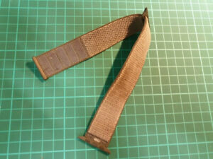 GENUINE & OFFICIAL APPLE STRAP 42MM WOVEN NYLON STORM GREY LOOP 1 PART - AS36