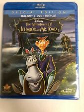 The Adventures of Ichabod and Mr. Toad (Blu-ray/DVD, 2014, 2-Disc Set)
